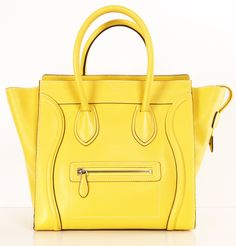 Celine Bag Love this Bag!! Yellow Want it