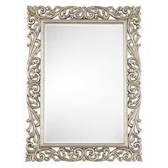 Buy John Lewis Scroll Ornate Mirror, Silver, 117 x 87cm online at JohnLewis.com - John Lewis