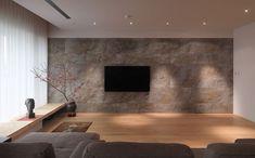 Slate Veneer feature wall