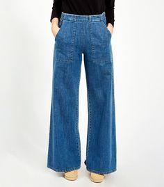 Indigo Long Sabrina Pants