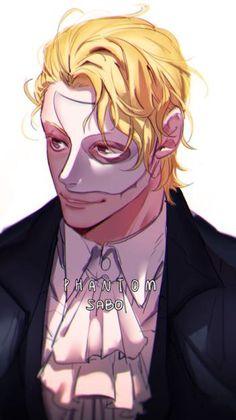 One Piece, Sabo phantom of the opera crossover I LOVE THIS!!!