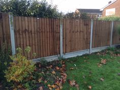 A panel version of Closeboard fencing! Closeboard panels are traditionally used for boundary screening and are more robust than the common waney lap panels. All panels are supplied complete with a top capping rail.  Sizes available :    2'(609mm) 5'(1524mm)   3'(915mm) 6'(1830mm)   4'(1219mm)     All panels are 1.83m wide (6') and constructed out of pressure treated material. Garden Fencing, Fence, Construction, Outdoor Structures, Outdoor Decor, Top, Home Decor, Garden Fences, Building
