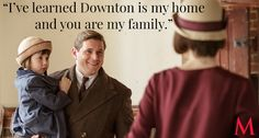 Downton Abbey Season 6 Episode 3 Best Quotes: Allen Leech as Tom Branson with daughter Sybbie – Welcome Home!