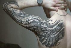#feather #tattoo #tattoos #ideas #designs #men #formen #menstattooideas