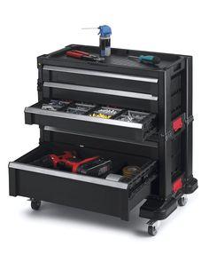 Rolling Tools Box 5 Drawer Garage Storage Organizer Tool Chest Portable Cabinet #RollingToolsBox