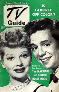 Lucille Ball - TV Guide Magazine [United States] (6 June 1952)