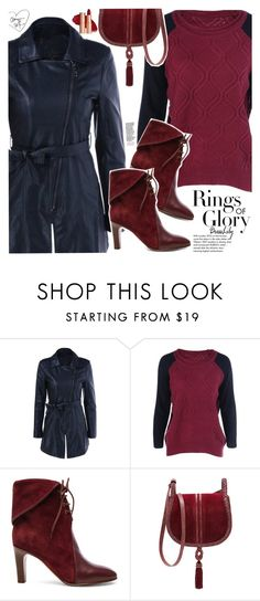 """""""Leather Coat"""" by vanjazivadinovic ❤ liked on Polyvore featuring Chloé, Tiffany & Co., Steven by Steve Madden, dresslily and polyvoreeditorial"""
