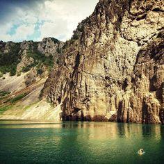 Croatia, Dalmatia, Imotski, Blue lake