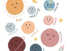 Stickers - Google ไดรฟ์ Journal Stickers, Planner Stickers, Printable Stickers, Cute Stickers, Memo Notepad, Note Doodles, Korean Stickers, Digital Art Anime, Stick Art