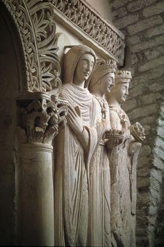 Cividale del Friuli - Tempietto longobardo -Stucchi e affreschi - Longobardi in Italia.  Luoghi del Potere (568-774 dC) -  dal 2011 Patrimonio dell'Umanità