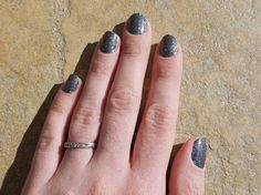 Onyx Sparkle Nail Wrap by Jamberry Nails    Only available until Feb 28, 2013. Get yours NOW!