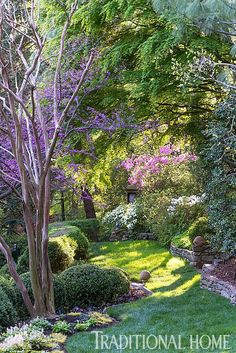 A path of soft green grace meanders through this terraced garden. - Photo: Rob Cardillo