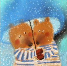 Сказочные иллюстрации Дианы Лапшиной (Diana Lapshina).
