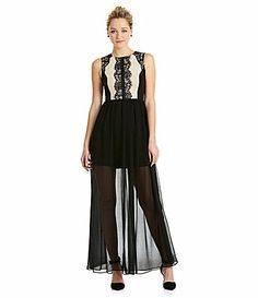 6bf169b5a9b MM Couture Lace Trimmed Maxi at Dillard s Summer Maxi