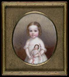 Little Girl with Doll by John Carlin, Smithsonian American Art Museum