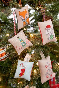 Sweet Scribbles Ornaments