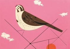 Charley Harper, simple drawings that are simply beautiful.