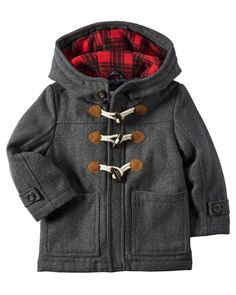 Toddler Boy Wool Toggle Jacket from Carters.com. Shop clothing & accessories…