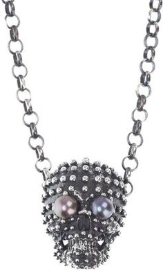 ShopStyle: Ugo Cacciatori Silver necklace