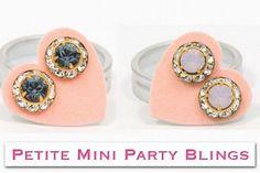 New! Petite Mini Party Bling JoJo Loves You