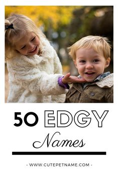 Do you want to give your child a unique name? While it can be fun to give your child a popular name, there is something creative and interesting about unique names. In this article, we'll take a look at the top edgy names to consider naming your child. #BeautifulEdgyNames #ListOfEdgyNames