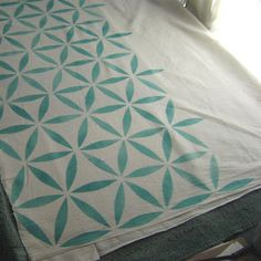 Rock n Roll Crafts: Stencil 101 Decor-Muslin Curtains The muslin curtains may need a face-lift in the new house too. Muslin Curtains, Muslin Fabric, Decorating Ideas, Decor Ideas, Craft Ideas, Curtain Inspiration, Nursery Curtains, Front Rooms, Music Decor