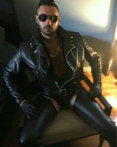 Hairy leather daddy s 2 boyz