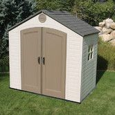 Found it at Wayfair - 8ft. W x 5ft. D Plastic Storage Shed
