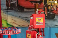 Decoração Festa Infantil - CARROS - Leandro Ribeiro Photography