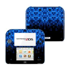 iStyles your Nintendo with a Dissolve Nintendo Skin. Vibrant, premium quality decal, no bulk, provides scratch protection. Nintendo 2ds, Nintendo Switch, Ds Xl, New Video Games, Cute Gif, Electric Blue, Video Game Console, Fun Games, Videogames