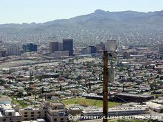 Downtown El Paso, Texas - From Scenic Drive