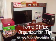 Home Office Organization Tips & Systems www.mycleverbiz.com/cleversarah