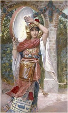 Jephthah's Daughter by James Tissot, ca. 1900.