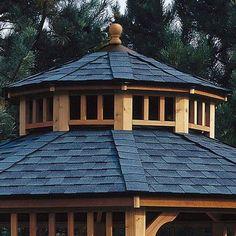 Handy Home San Marino Two-Tier Roof for 12' W Gazebo