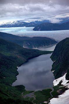 Glaciers - Juneau Icefield Alaska