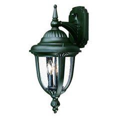 Acclaim Lighting Monterey 10 in. Outdoor Wall Mount Light Fixture - 3522BK