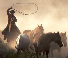The Wild West.
