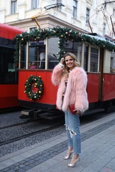 Daily Cristina em Viagem   Bratislava   Slovakia Cristina Ferreira, Bratislava Slovakia, Fur Coat, Women's Fashion, Jackets, Travel, Outfits, Clothes, Style