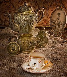 Babaannelerimizin çay setleri yeniden moda #vintage#style#life#design