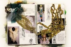 A Level Textiles Sketchbook, Sketchbook Layout, Gcse Art Sketchbook, Fashion Design Sketchbook, Sketchbook Inspiration, Studios, Textile Artists, Art Portfolio, Art Pages