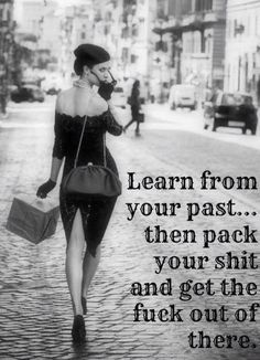 Learn from your past..