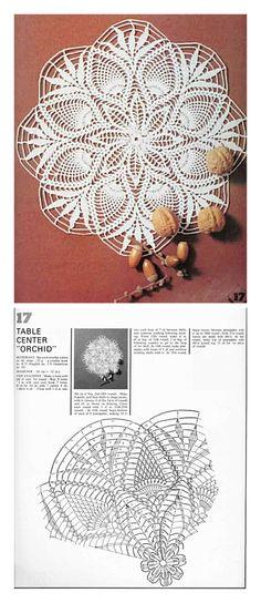 Free Crochet Doily Patterns, Crochet Doily Diagram, Crochet Mandala, Crochet Art, Thread Crochet, Crochet Motif, Crochet Designs, Crochet Crafts, Crochet Doilies