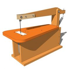 Build your own Scroll Saw easily and with cheap materials