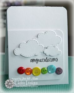 Made by @Jennifer del Muro using goodies from Lil' Inker Designs. I'm in loooove with this card!
