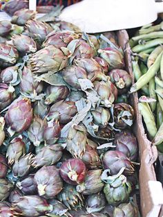 Artichokes are Beautiful. And they are the most antioxidant rich vegetable!