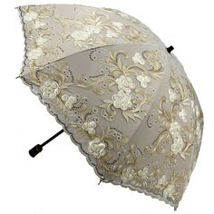 Just Women Fashion Lace Umbrella, Lace Parasol, Vintage Umbrella, Folding Umbrella, Under My Umbrella, Cool Umbrellas, Umbrellas Parasols, Anti Uv, Singing In The Rain