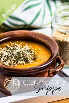 Hier geht's zum Rezept für diese leckere und kalorienarme Suppe mit ganz wenigen, simplen Zutaten.  Viel Spaß beim Nachkochen!