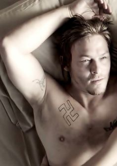 """Norman Reedus in a scene from """"Hello Herman"""""""