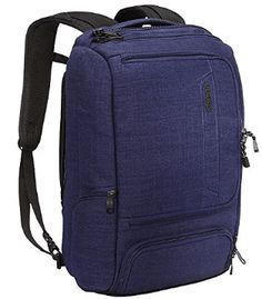 eBags Professional Slim Laptop Backpack for Travel, School & Business - Fits 17 Inch Laptop - Anti-Theft - (Brushed Indigo) Backpack 2017, Best Laptop Backpack, Travel Backpack, Laptop Bags, 17 Laptop, Computer Laptop, Travel Bags, Desktop Computers, Laptop Computers
