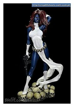 figurine x-men mystique